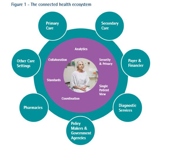 which countries are leading the way in connected health