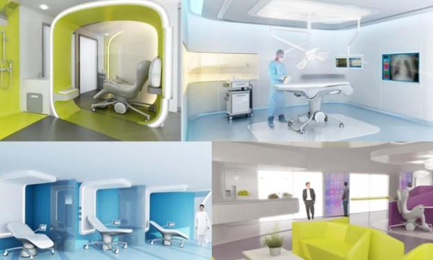 De ziekenhuiskamer van de toekomst