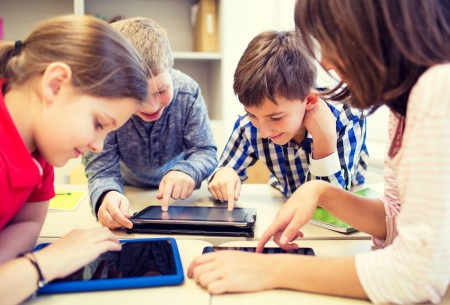Tablets in het basisonderwijs