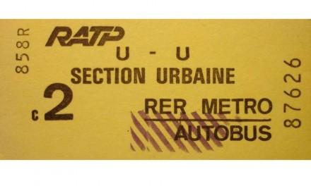 Avec la disparition du ticket de métro, on va faire comment ?