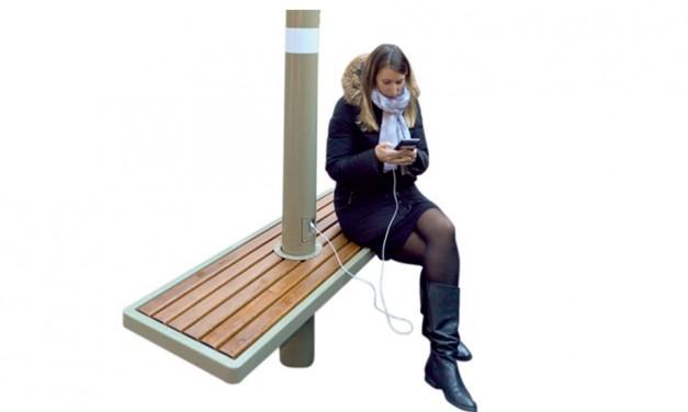 Le mobilier urbain mise sur l'interactivité Homme-Objet
