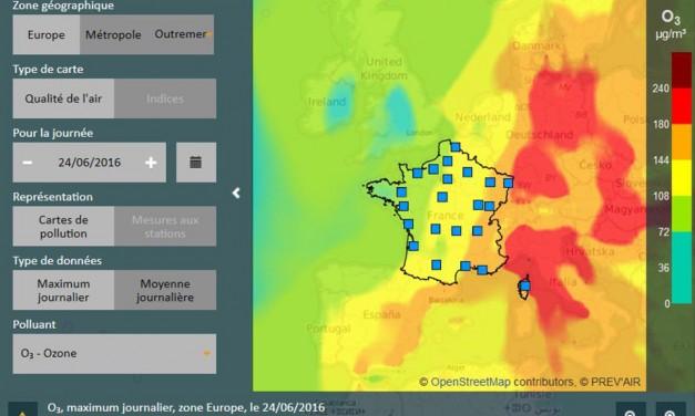 Le Big Data est déjà au service de la qualité de l'air