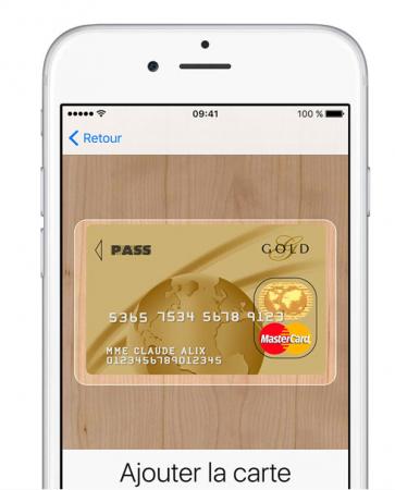 scan CB Apple pay