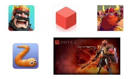 I cinque giochi digitali del momento
