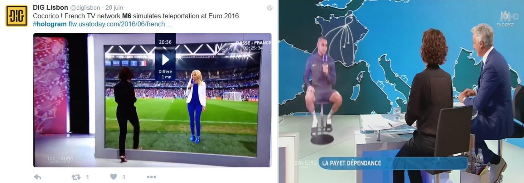 hologram M6 Euro2016