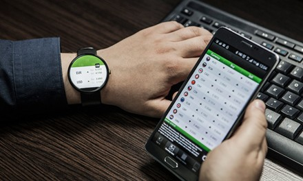 Utiliser des applications pour montre connectée au travail
