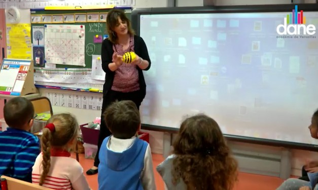 Digital classrooms, where robots help children
