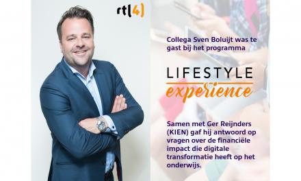 "Econocom's PlanIT@School in ""Lifestyle Experience"" - RTL 4"