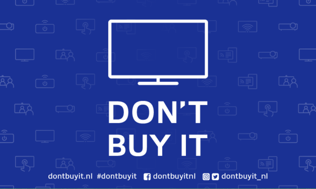 Don't buy it, use it!