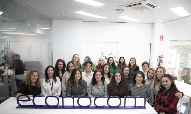 Desde Grupo Econocom os felicitamos en El Día de la Mujer