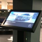 Grupo Econocom instala Totems digitales en los concesionarios Mercedes
