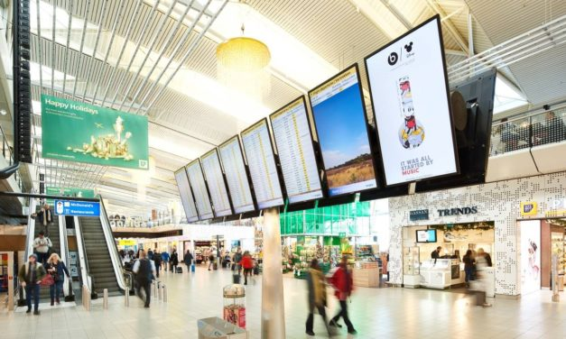 Schiphol and BIS|Econocom to introduce display-as-a-service