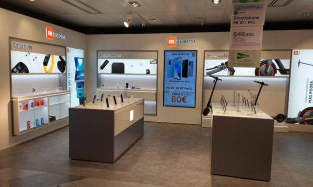 Xiaomi confía en las soluciones digital signage para sus nuevas tiendas en España