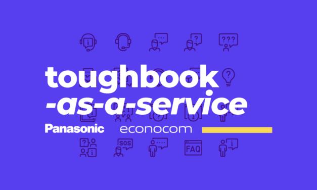 Panasonic lanza toughbook-as-a-service, un modelo de suscripción impulsado por grupo econocom
