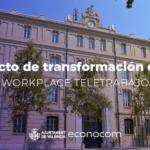 El Ayuntamiento de València planta cara a una crisis sin precedentes y apuesta por el teletrabajo para garantizar la continuidad del servicio a la ciudadanía