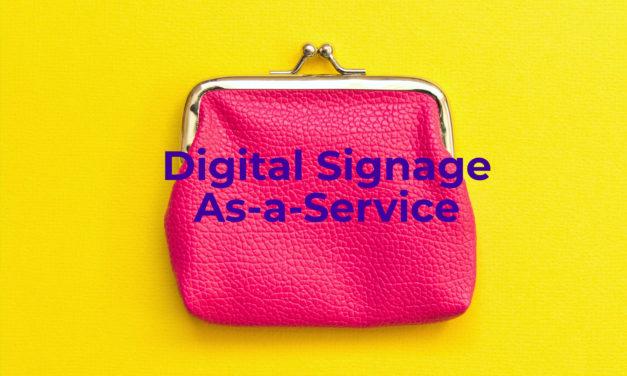 Digital signage ontdekken? Niet zomaar de buidel trekken!